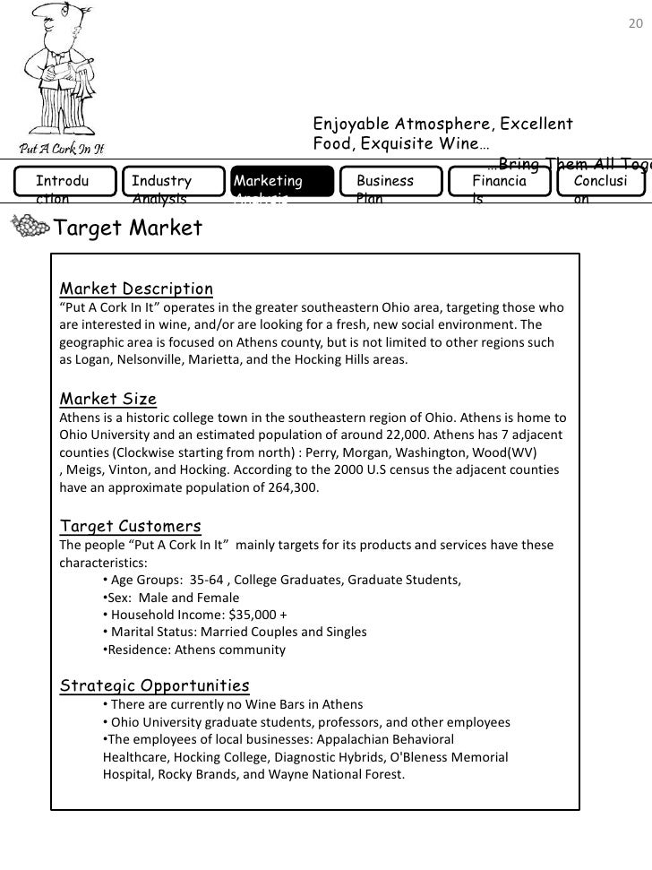 wine shop business plan pdf