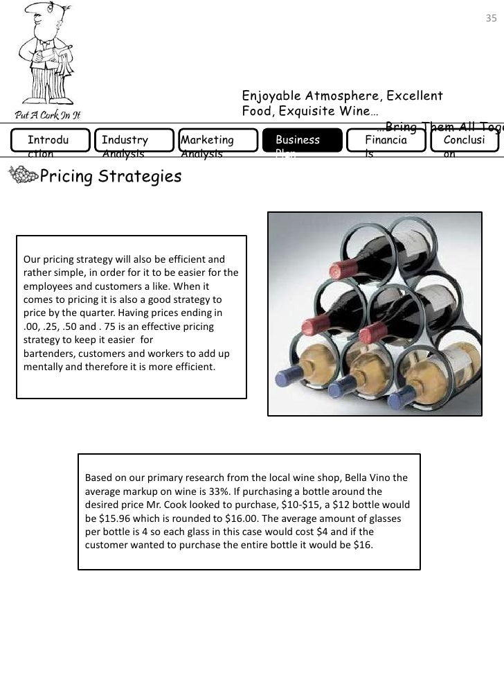 Bistro and Wine Bar Business Plan