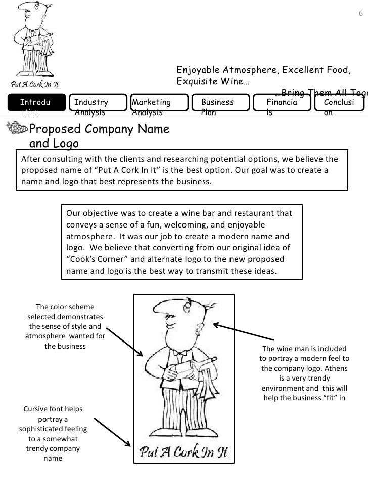 A Sample Micro Winery Business Plan Template