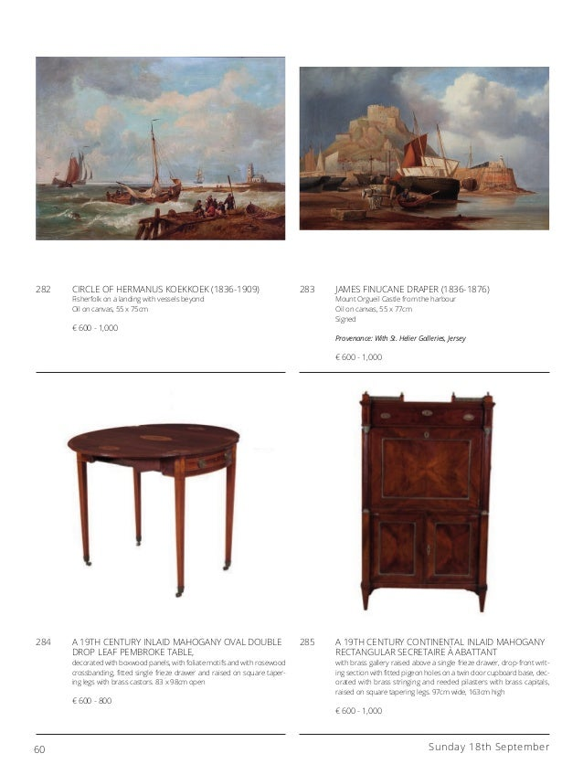 Adam S At Home 18th September 2016 An Auction Of Fine