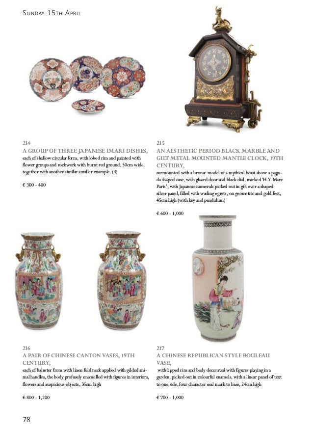 Adams At Home Fine Interiors Auction April 15th 2018
