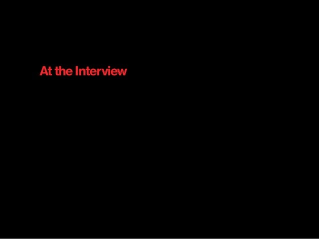 At the Interview