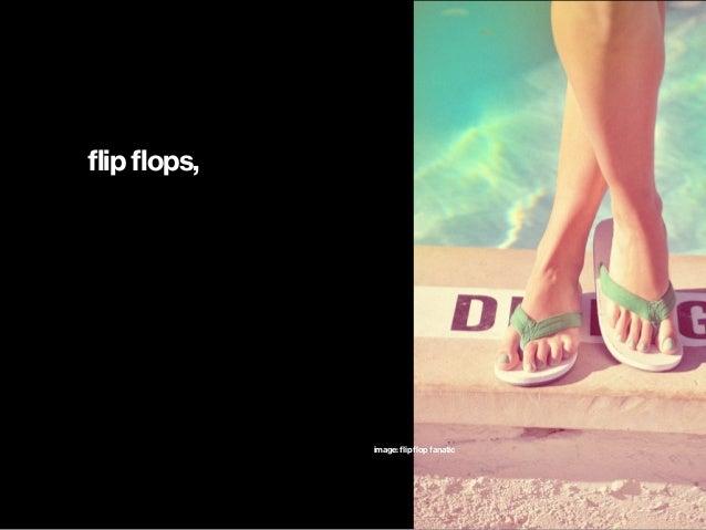 flip flops, image: flip flop fanatic