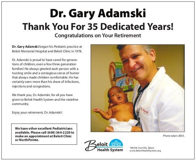 adamski retirement ad 2013