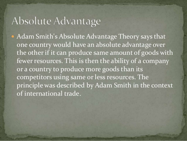 an analysis of adam smiths the division of labor theory Adam smith's pin factory example is an application of his theory of division of labour smith argued that humans can 'specialize' their skills in order to create .