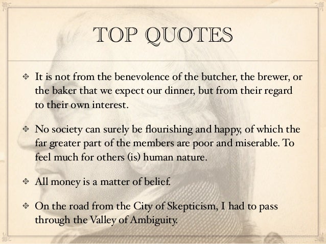 Adam Smith Quotes Impressive TOP QUOTES It Is Not