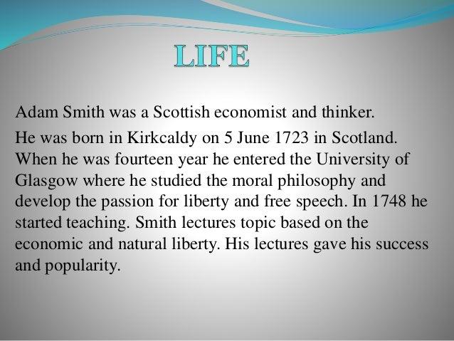 adam smith essay example 16