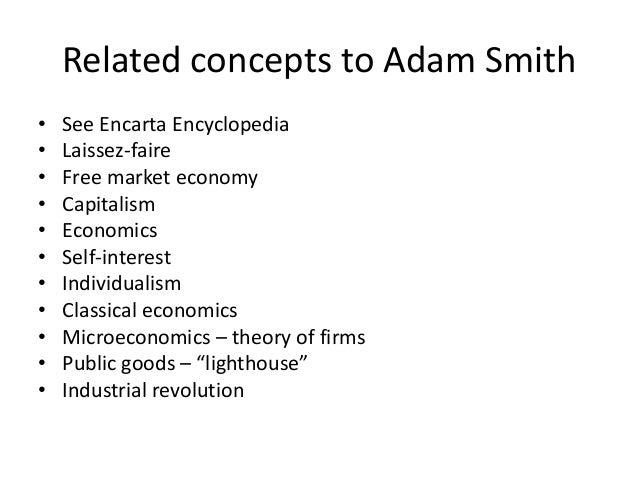 adam smith importance