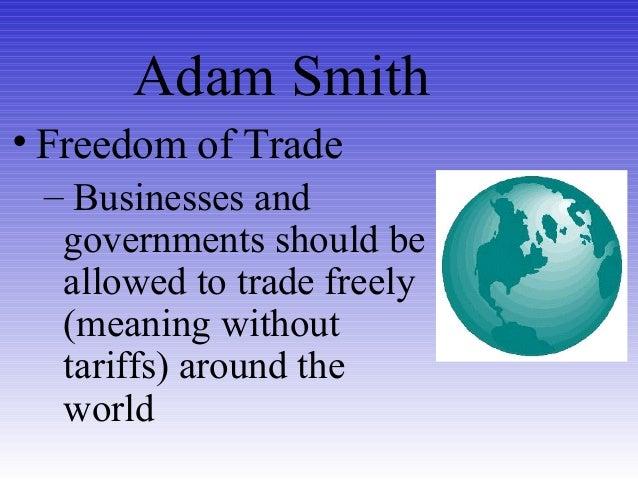Adam Smith Presentation
