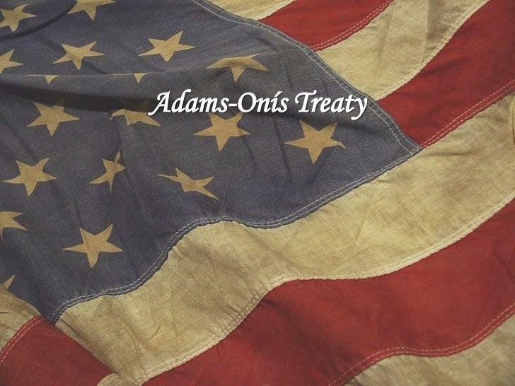 Adams-Onís Treaty