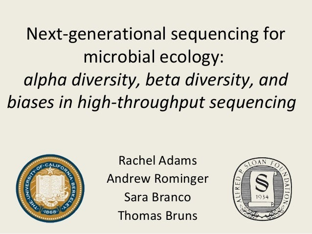 Next-generational sequencing formicrobial ecology:alpha diversity, beta diversity, andbiases in high-throughput sequencing...