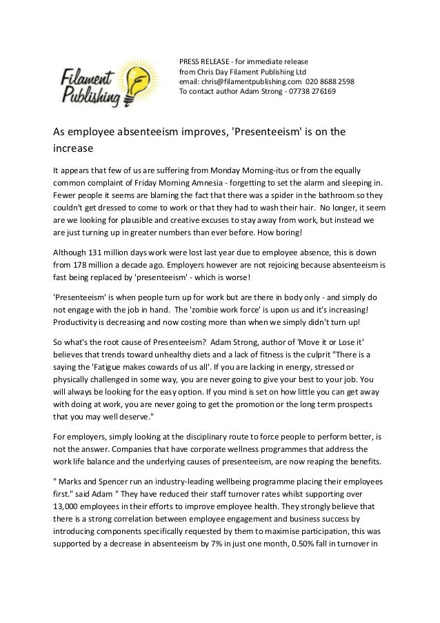 PRESS RELEASE - for immediate release  from Chris Day Filament Publishing Ltd  email: chris@filamentpublishing.com 020 868...