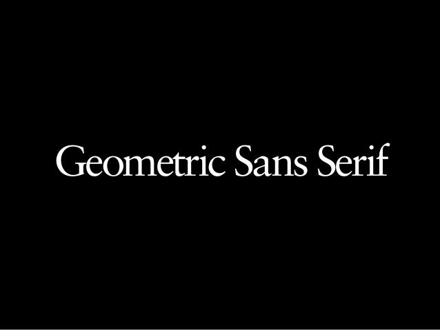 This is a designer who uses beautifully drawn  sans-serif typefaces