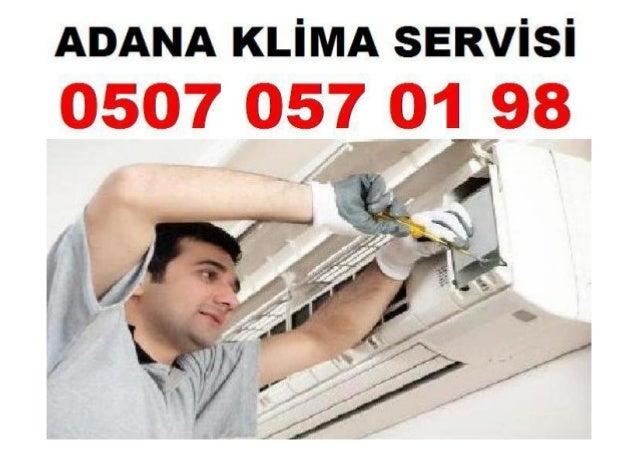 Adana Klima Yetkili Servisi
