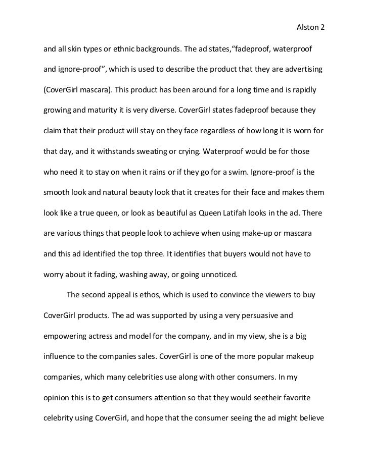 An Essay On Advertisement Online Course Essays Are Made And Painted In