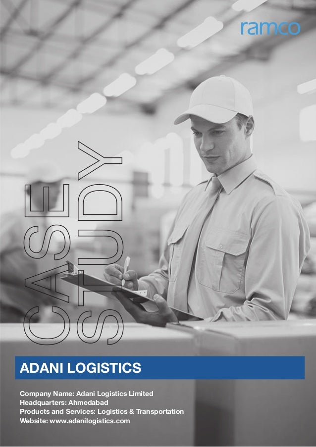 logistics case study india Case study on how outsource2india helped to overcome the gaps in transaction processing services for a us-based logistics company.