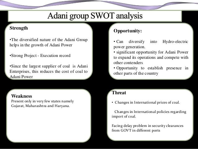 adani wilmar swot analysis Find free swot analysis for wilmar international and read swot analysis for over 40,000+ companies and industries detailed reports with strength, weaknesses, opportunities, threats for free.