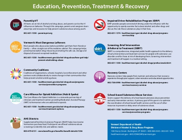 Most Teens Who Misuse Prescription >> Working Together to Eliminate Substance Abuse in Vermont