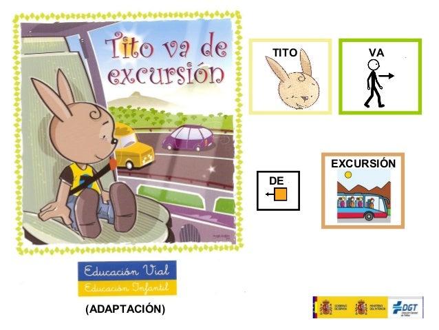 TITO VA DE EXCURSIÓN (ADAPTACIÓN)