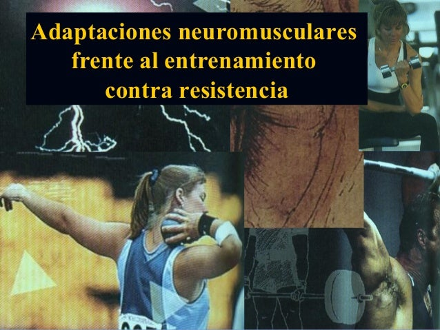 Adaptaciones neuromuscularesfrente al entrenamientocontra resistencia
