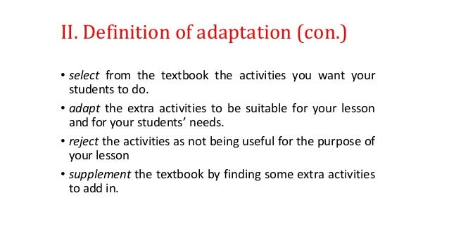 animal adaptation definition - photo #2