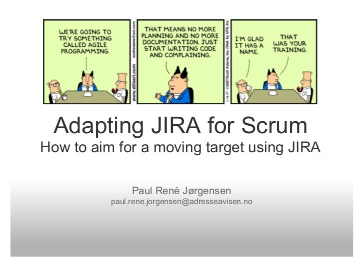 Adapting JIRA For Scrum