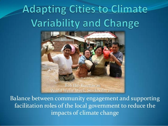 Balance between community engagement and supportingfacilitation roles of the local government to reduce theimpacts of clim...