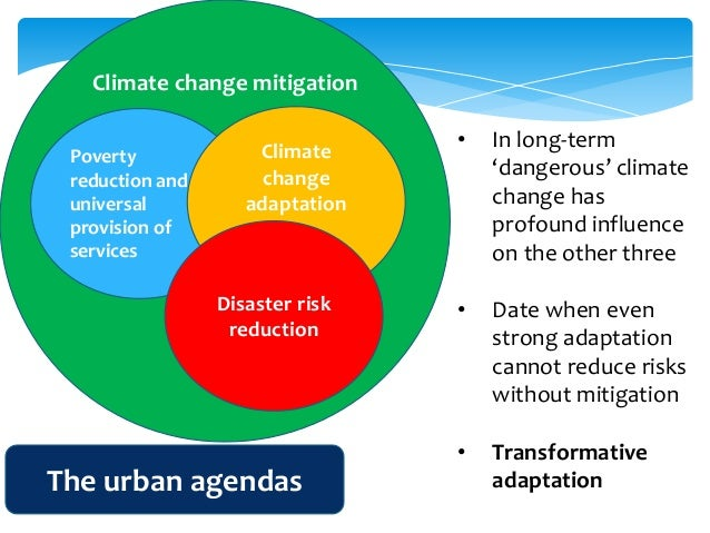 Adapting Urban Areas to Climate Change