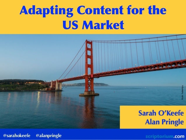 Adapting content for the US market