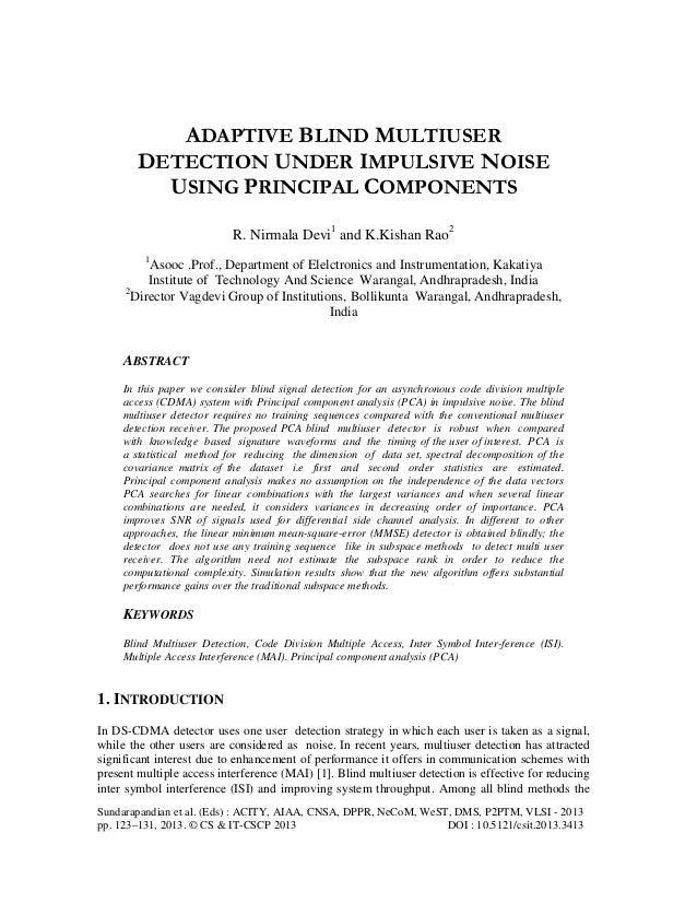 Sundarapandian et al. (Eds) : ACITY, AIAA, CNSA, DPPR, NeCoM, WeST, DMS, P2PTM, VLSI - 2013 pp. 123–131, 2013. © CS & IT-C...
