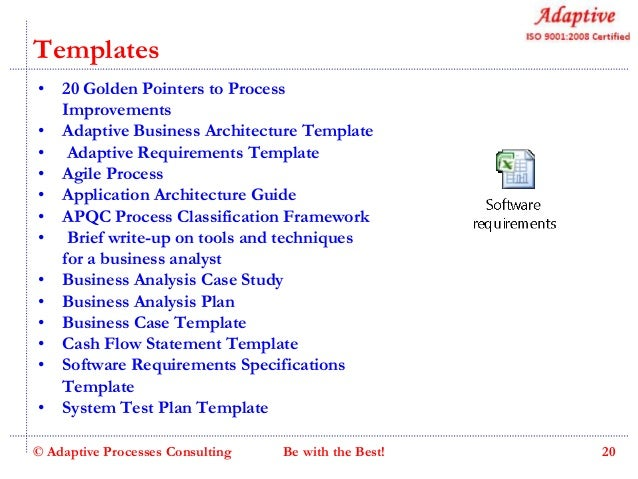 Adaptive business analysis skill enhancement program v60 slideshare analysis software requirements 20 accmission Gallery