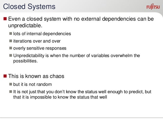 Repeatability  Repeatable = Predictable  perfectly repeating == perfectly predictable  Can be differences, and still be...