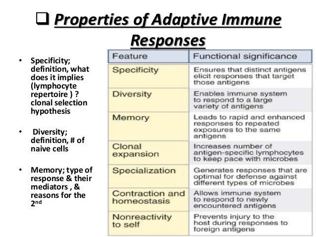 adaptive immune