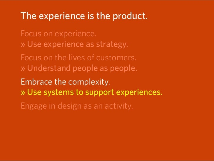 Experiences don't match the organization