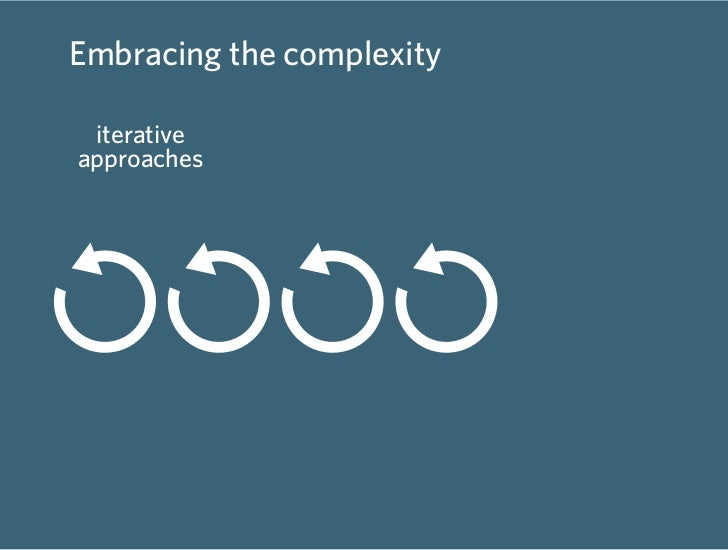 Embracing the complexity   iterative            prototyping        deep/wide approaches            and making        colla...
