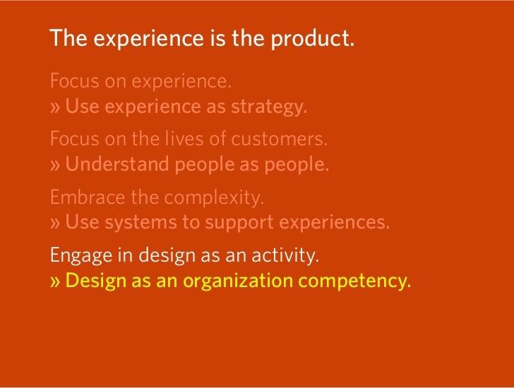 Five ways of thinking of design  1. Design as aesthetics