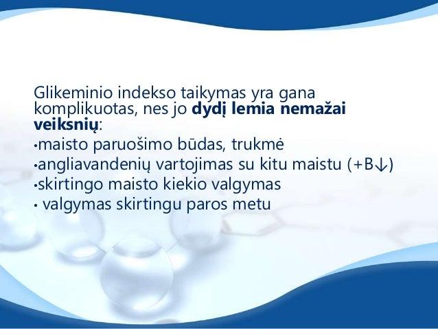 Valgant didelio GI maistą gliukozės irinsulino kiekis kraujyje pakyla staiga, ir staigakrenta. Be to, insulinas sulėtina k...