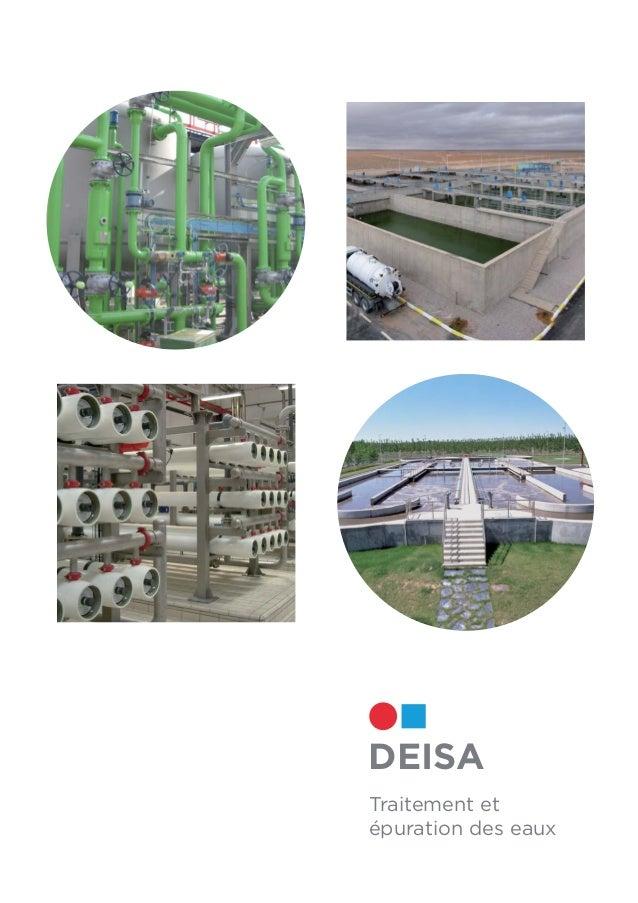 DEISA Traitement et épuration des eaux