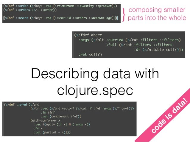 a data layer in clojure