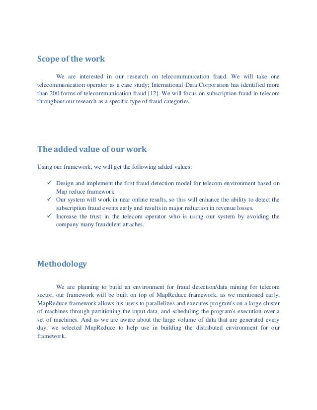 business proposal for telecommunications pdf