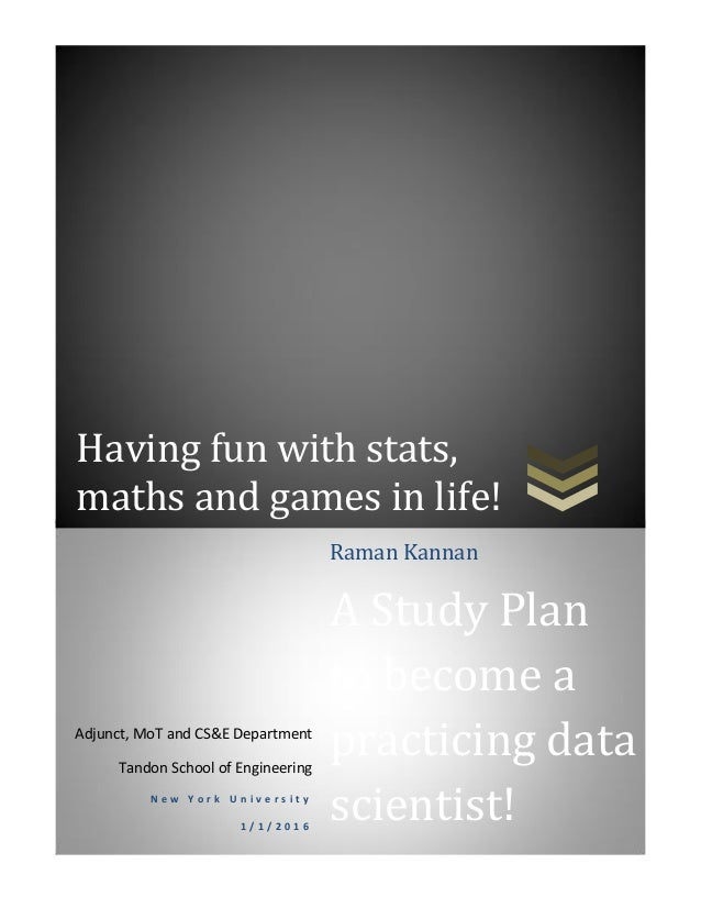 Having fun with stats, maths and games in life! Adjunct, MoT and CS&E Department Tandon School of Engineering N e w Y o r ...