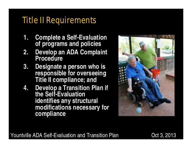 ada transition plan public meeting power point