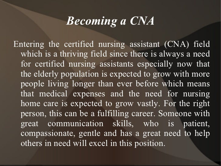 considering becoming a cna? discover a day in the life of a cna, Human Body