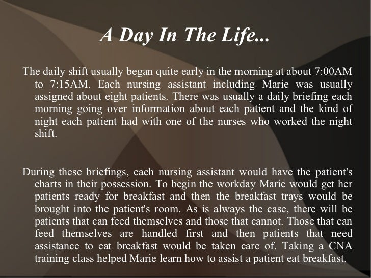 considering becoming a cna  discover a day in the life of a cna