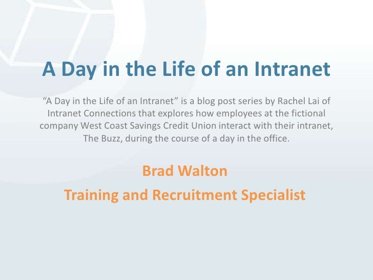 "A Day in the Life of an Intranet""A Day in the Life of an Intranet"" is a blog post series by Rachel Lai of Intranet Connect..."
