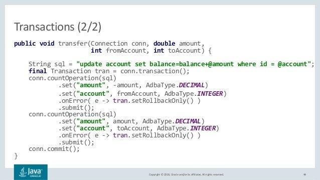 ADBA (Asynchronous Database Access)