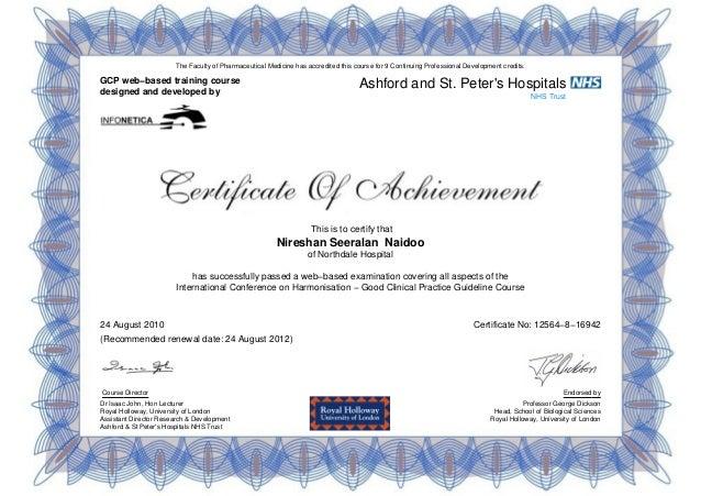 Gcp Certificate