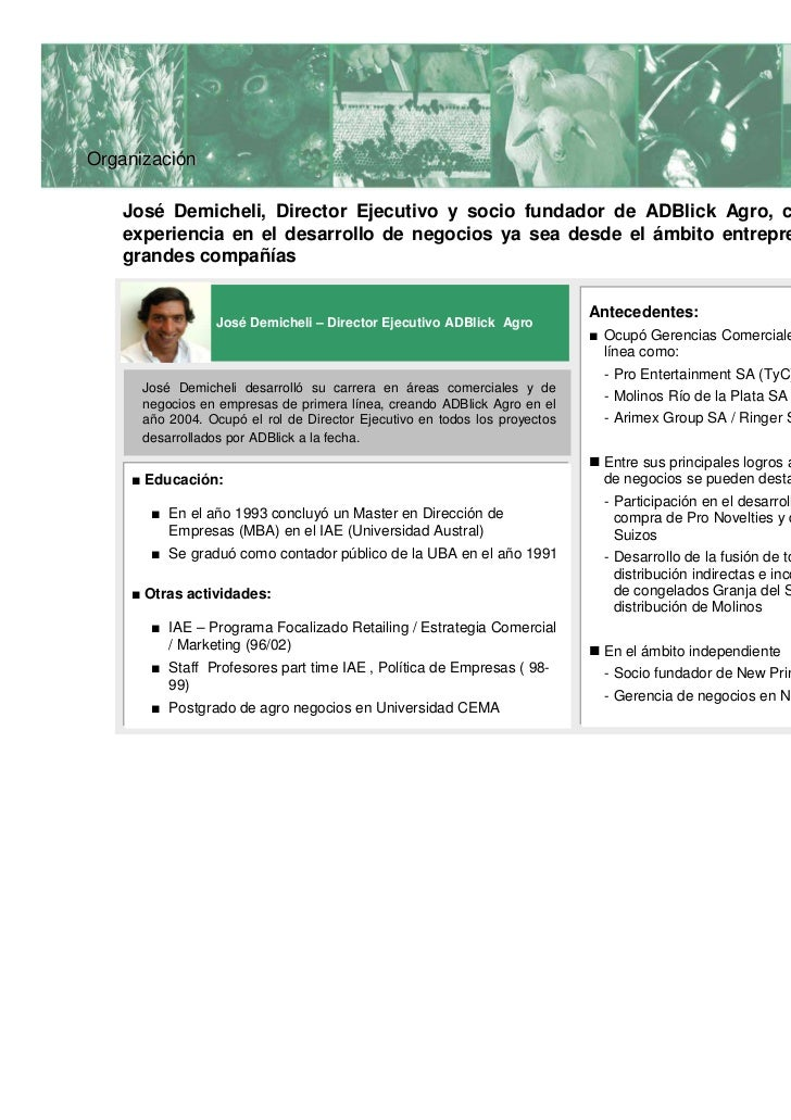1   Marco conceptual2   Organización3   Proyectos