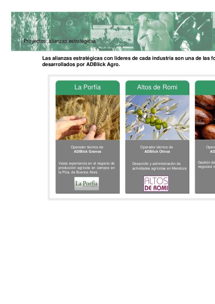 Proyectos: comunicación           comunicacióMediante un acuerdo con el IAE, ADBlick Agro participa como Sponsor en la Asa...