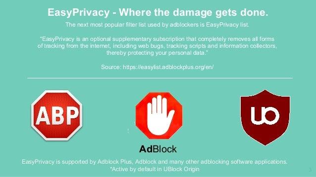 Adblocking - Blocking more than ads